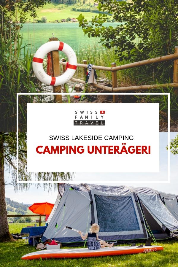Swiss Family Travel: Camping Unterägeri Review. Camping in Switzerland