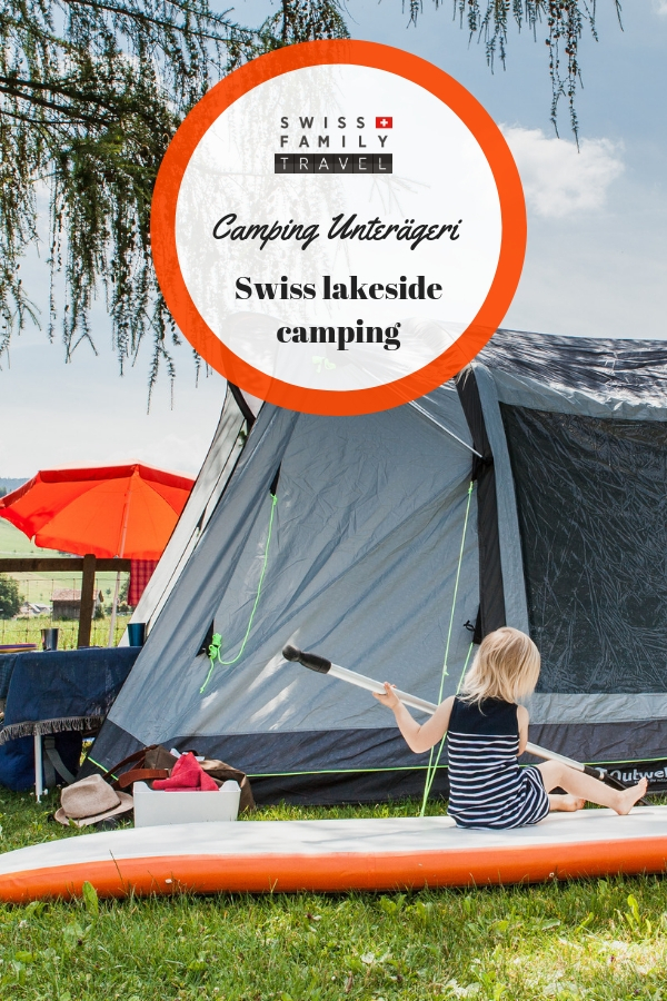 Swiss Family Travel: Camping Unterägeri. Lakeside Camping in Switzerland