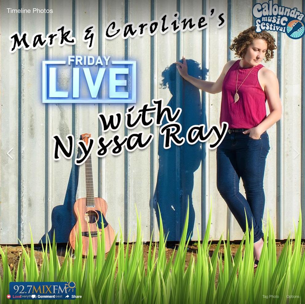 Nyssa Ray 92.7 Mix FM