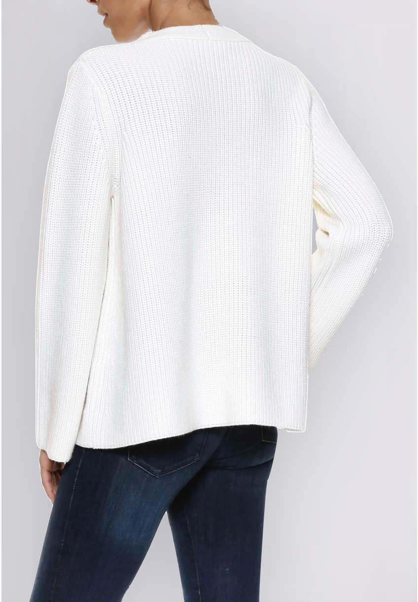 Wave Snow Pullover
