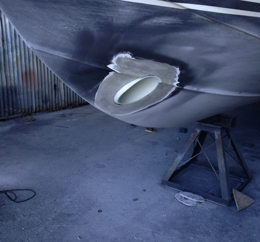 Bow Thruster - Before