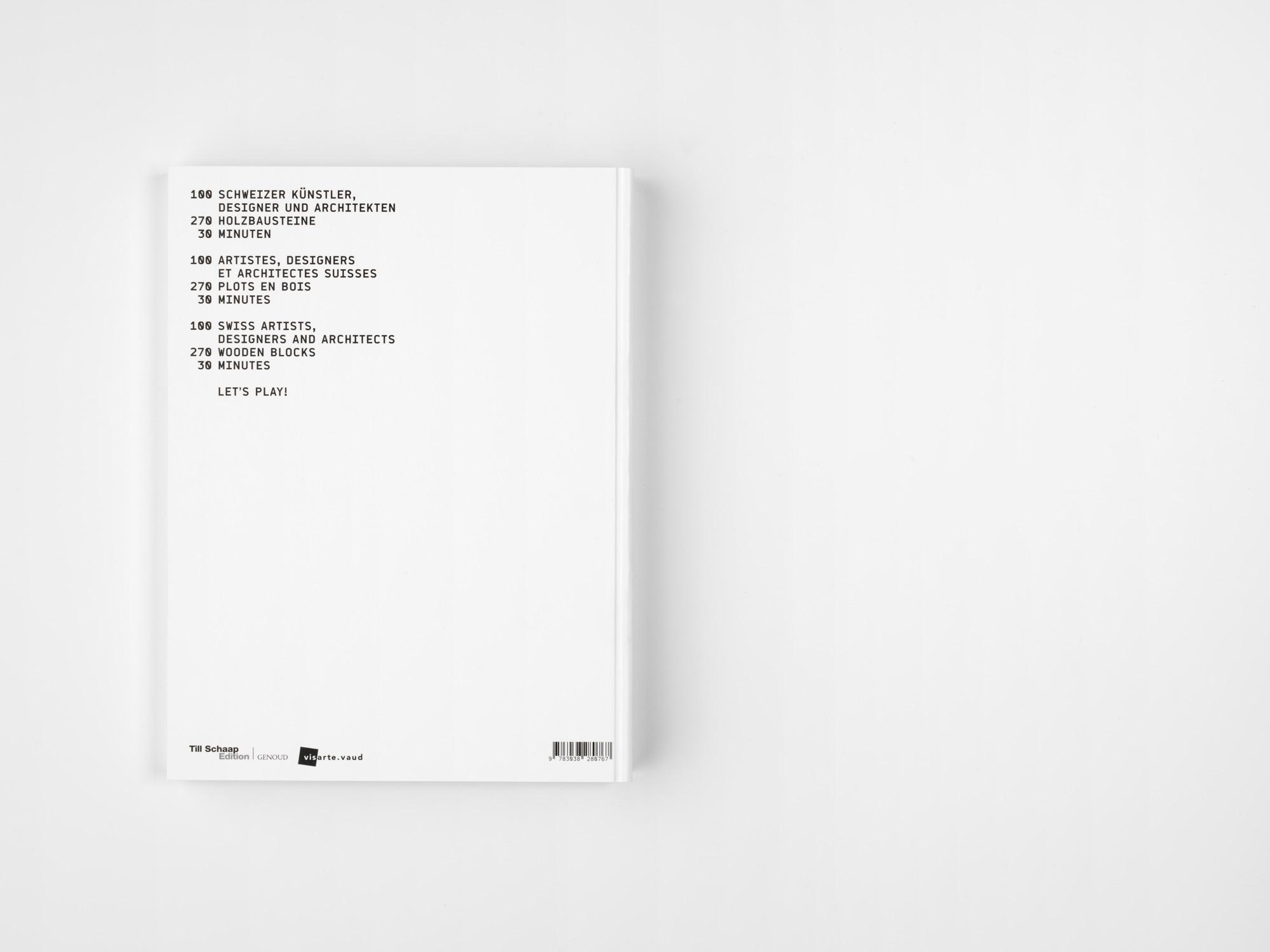 Concept and art direction Christiane Nill // Photographies Lionel Henriod // Graphic design atelier cocchi // Text Michel Thévoz // Co edition Till Schaap edition - Visarte Vaud // Impression Genoud SA