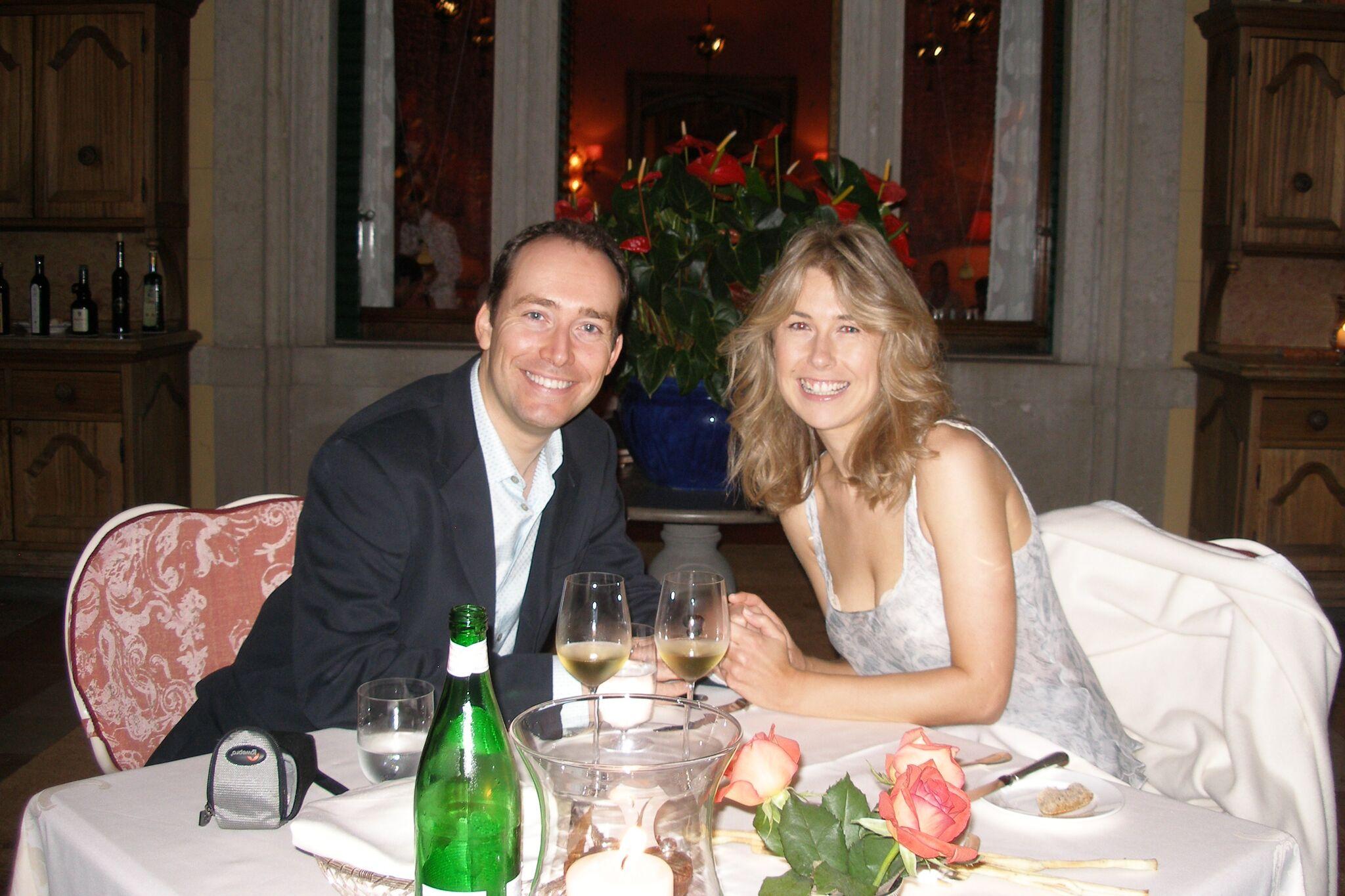 Dinner at Villa Feltrinelli