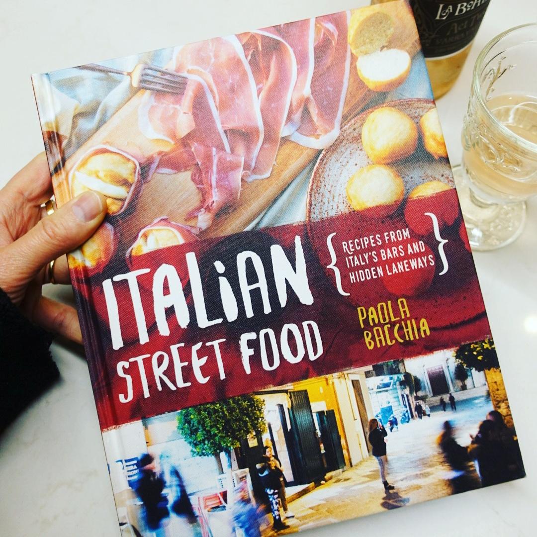 Paola's book:  Italian Street Food