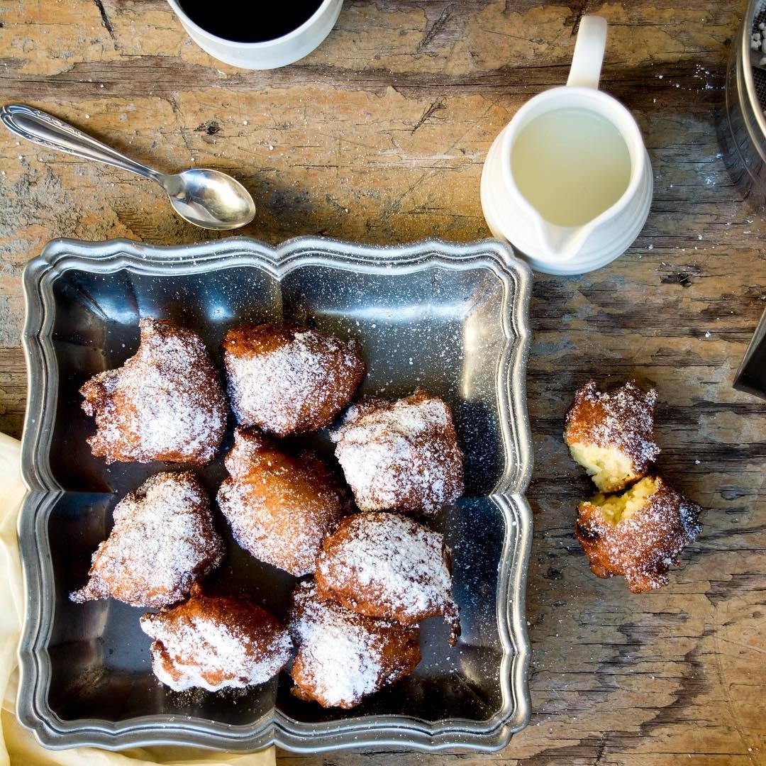 Fried Apple Balls from  Italian Street Food