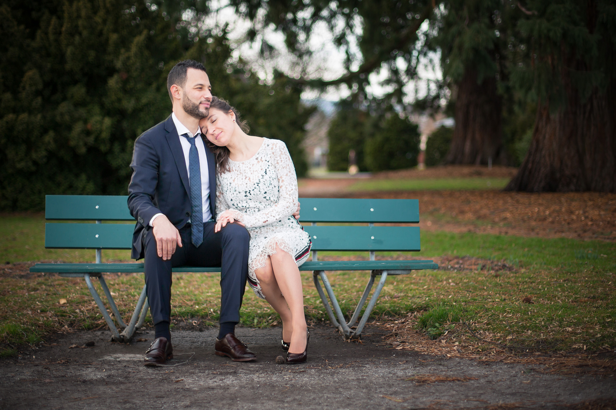 couple mariage bride groom wedding banc