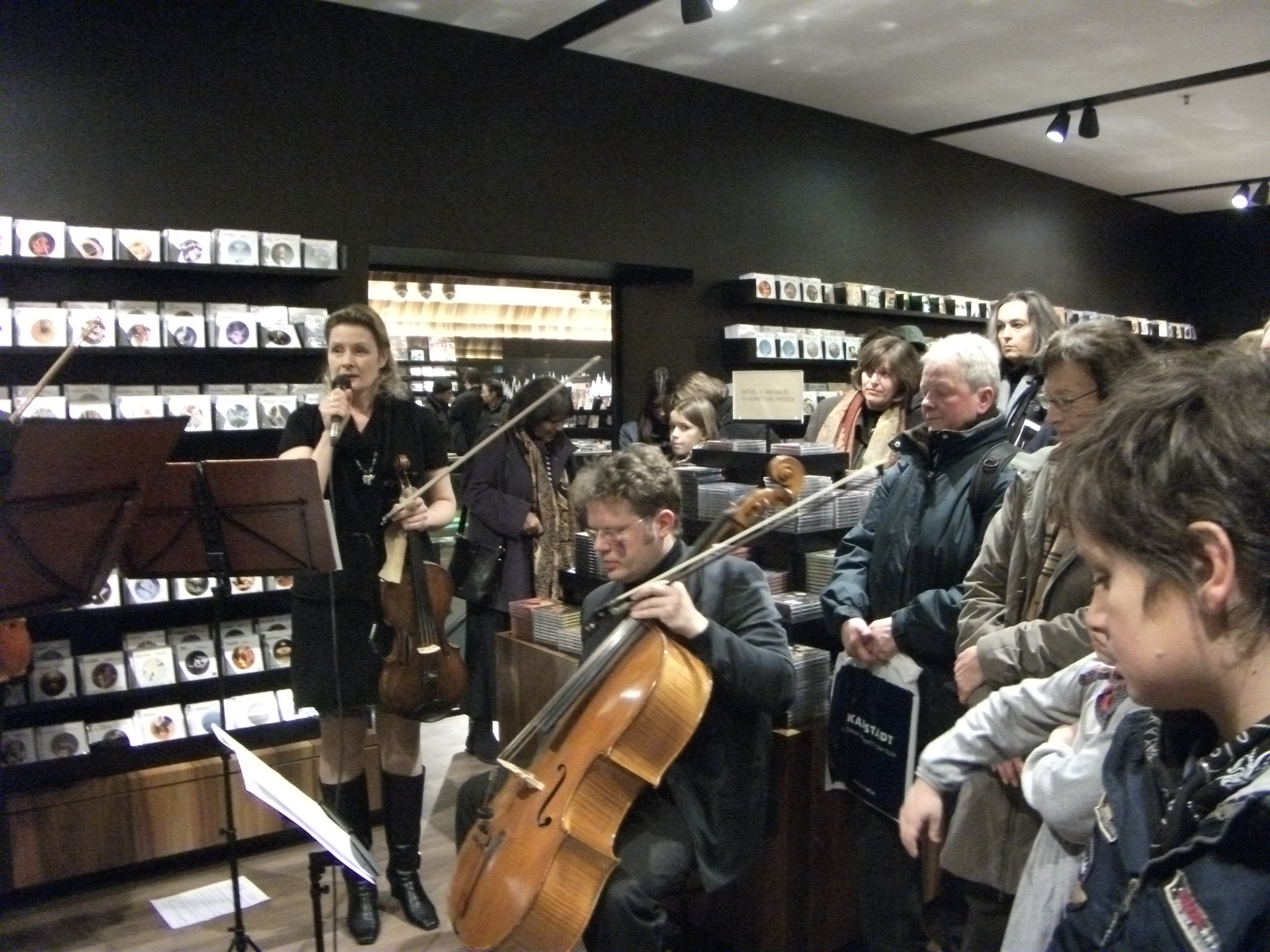 CD Showcase at Ludwig Beck München