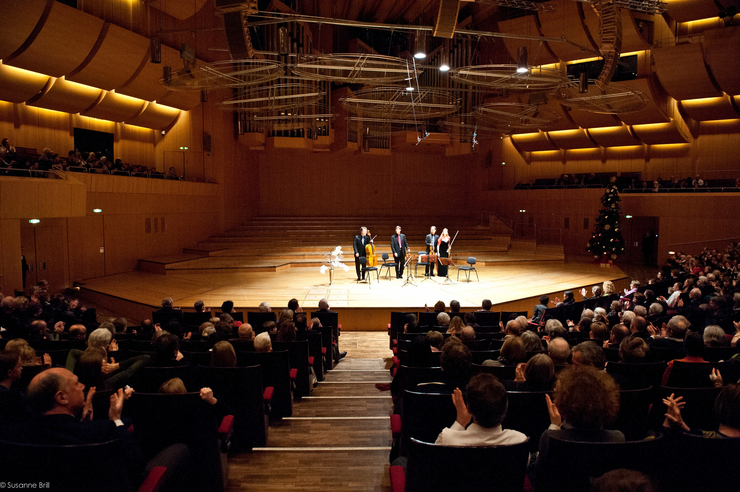 20th anniversary concert of the Henschel Quartet at Philharmonie München
