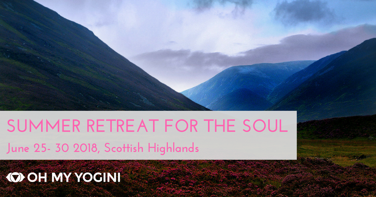 Over 6 days, in community with 12 conscious women, share in the spirit of curiosity, love and openness and go within to witness your soul's abundance deep in the hear of the Scottish Highlands. Answer you heart's call,  find out more...