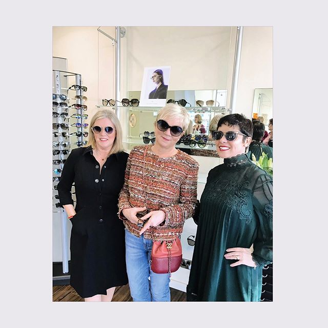 Thank you Eavan and the team at @ekeyewearopticians for having us in store today for such a fabulous event!  @brandoeyewear @alysonmagee #lisburnroad #alysonmagee #paris #belfast #eyewear