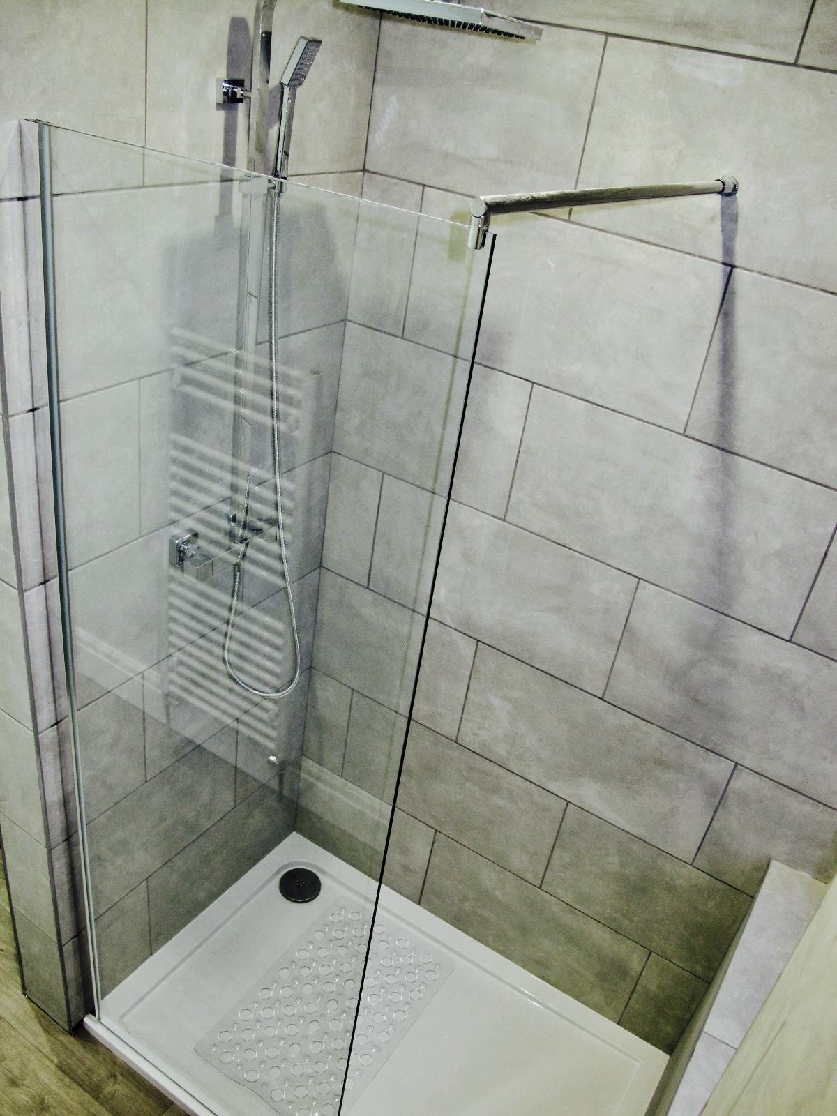Almost wet room
