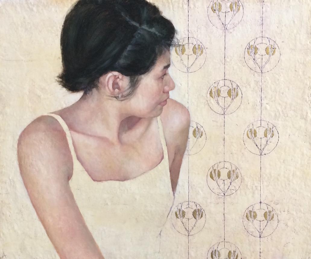 Title: Fyne Size: 48 x 61 cm Medium: Oil on canvas