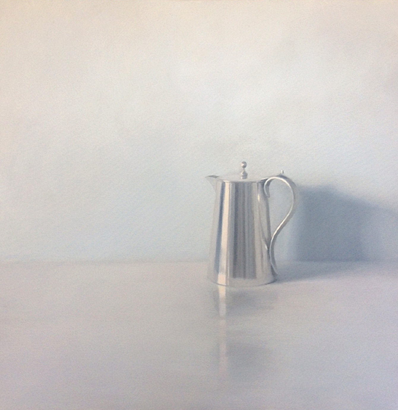Artist: Harriet Porter  Title: Simple Beauty  Medium: Oil on canvas  Size: 90 x 90 cm  Price: £2750