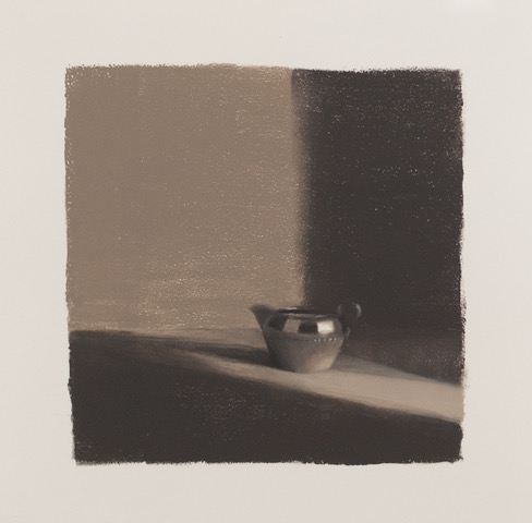Artist: Harriet Porter  Title: Study At Night  Medium: Monoprint on paper  Size: 52 x 52 cm  Price: £350