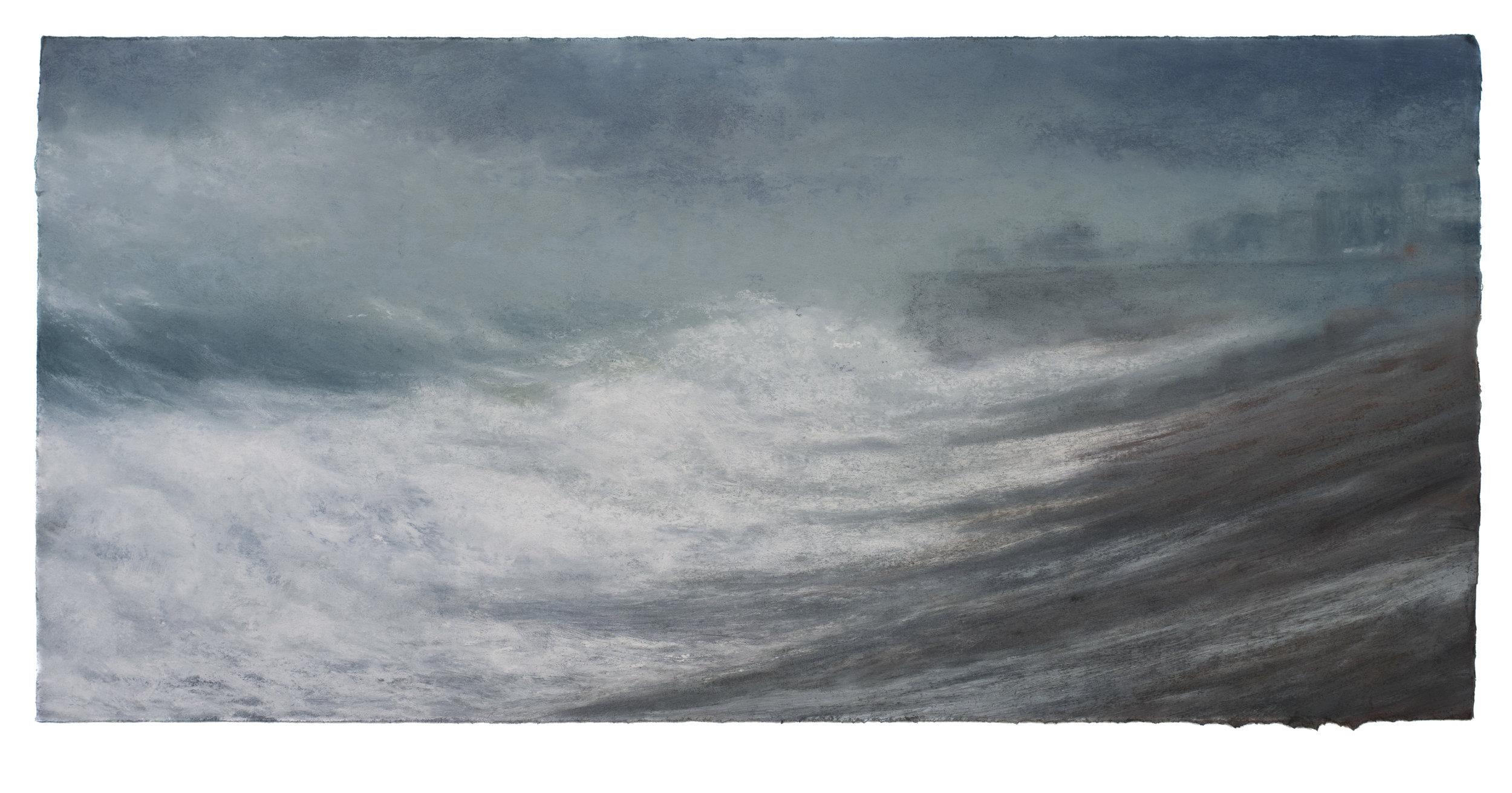Artist: Matthew Draper  Title: Impending Storm  Size: 56 x 69.5 cm  Medium: Pastel on paper  Price: £3250
