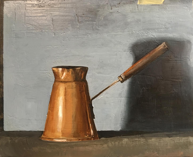 Artist: Tori Day  Title: Heirloom  Size: 27.5 x 32.5 cm  Medium: Oil on panel  Price: £550