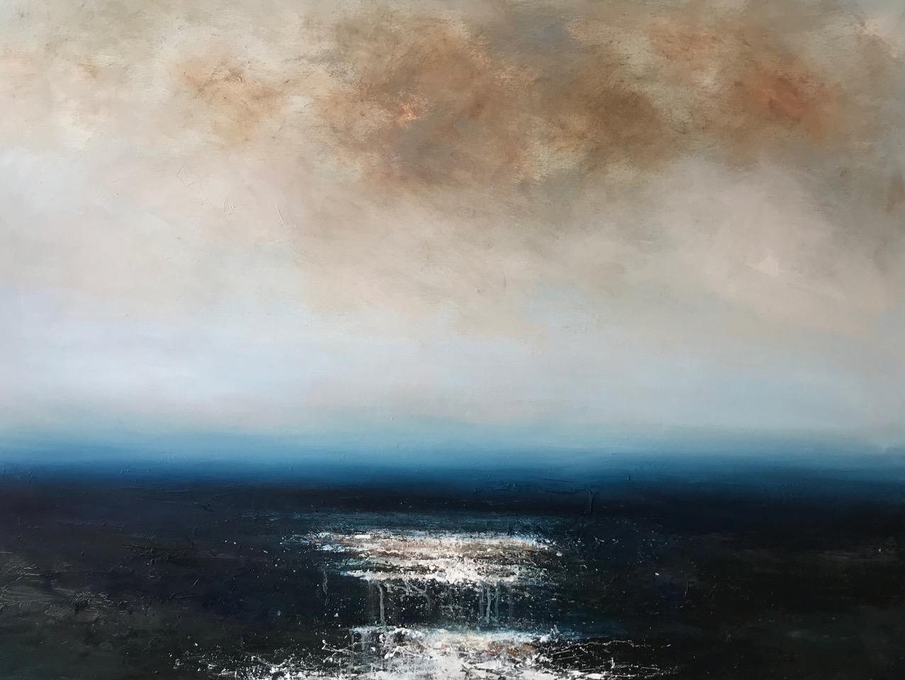 Artist: Hannah Ludnow  Title: Embark  Size: 90 x 120 cm  Medium: Oil on canvas  Price: £1600