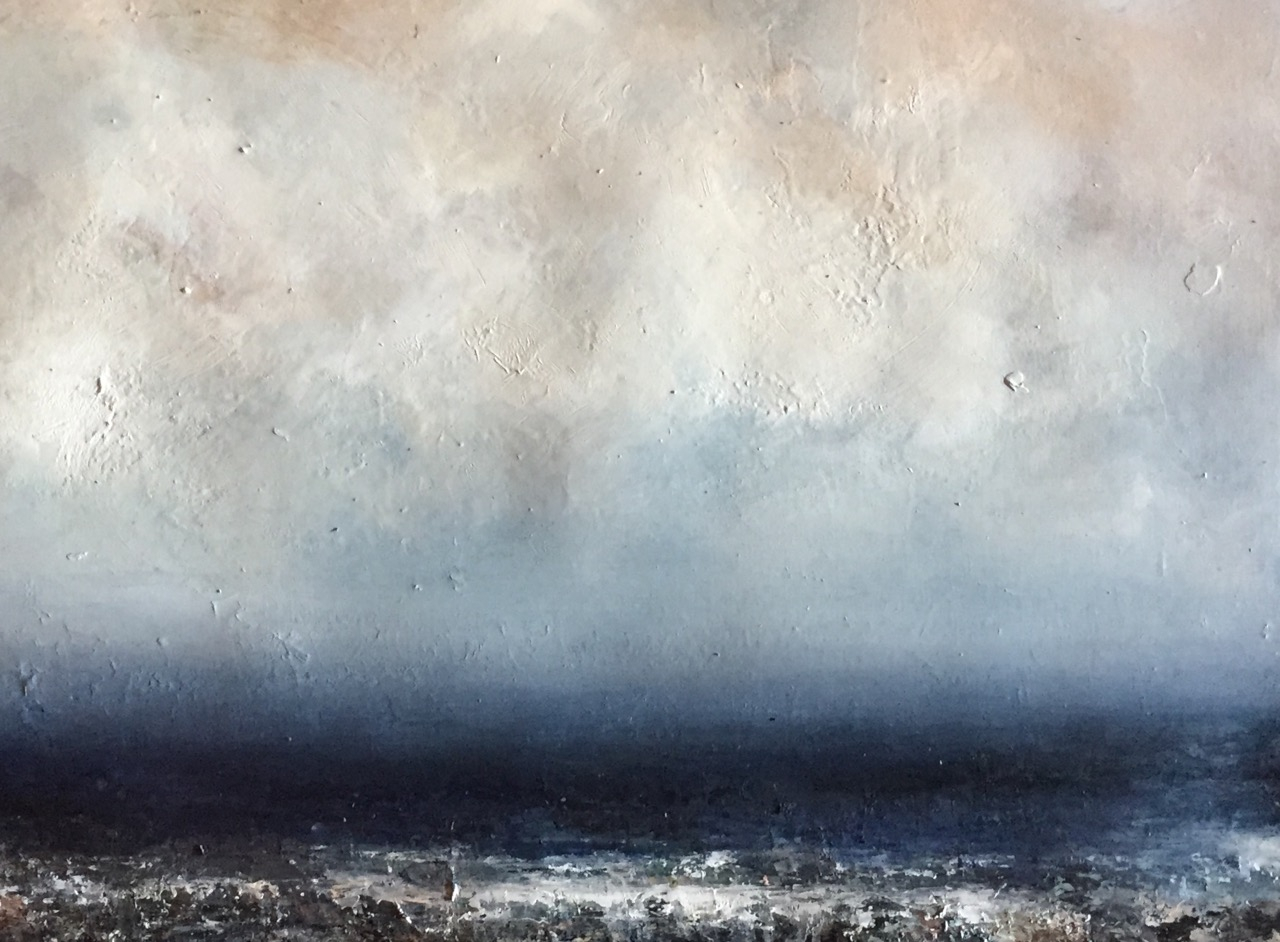 Artist: Hannah Ludnow  Title: Peace  Size: 80 x 100 cm  Medium: Oil on paper  Price: £1350