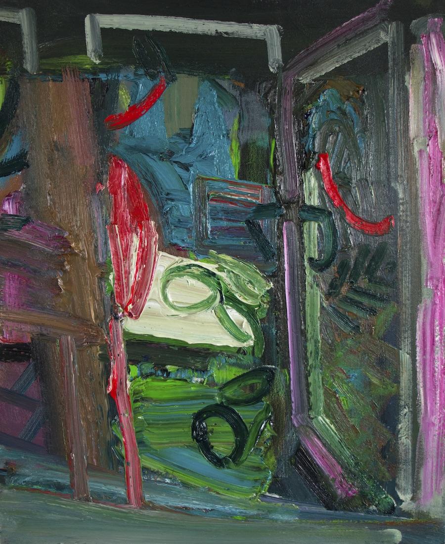 Artist: Luke Hannam  Title: Summer House In Autumn  Size: 61 x 51 cm  Medium: Oil on canvas  Price: £1550