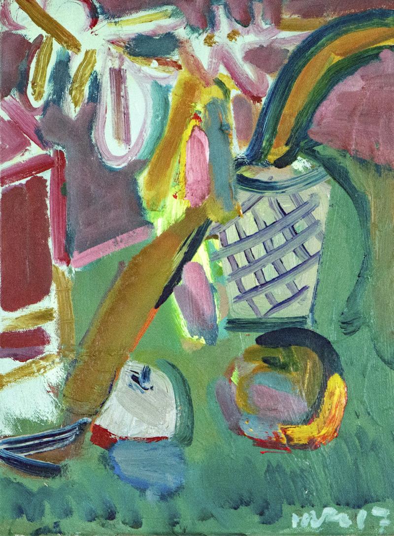 Artist: Luke Hannam  Title: Pink Shadow  Size: 61 x 51 cm  Medium: Oil on canvas  Price: