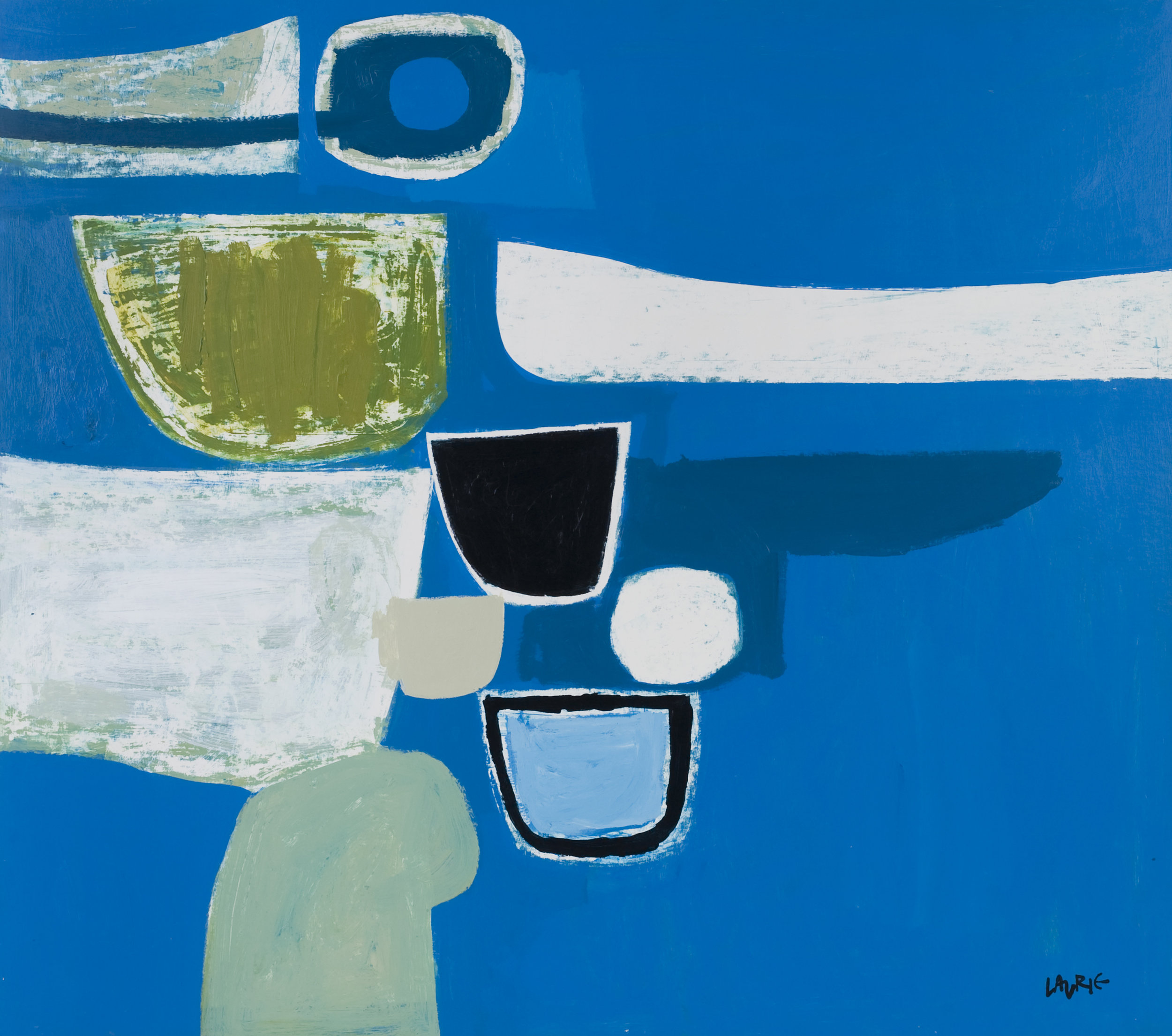 Title: Cretan Harbour Size: 81 x 91 cm Medium: Acrylic on canvas Price: £4700 * Please contact the gallery for availability