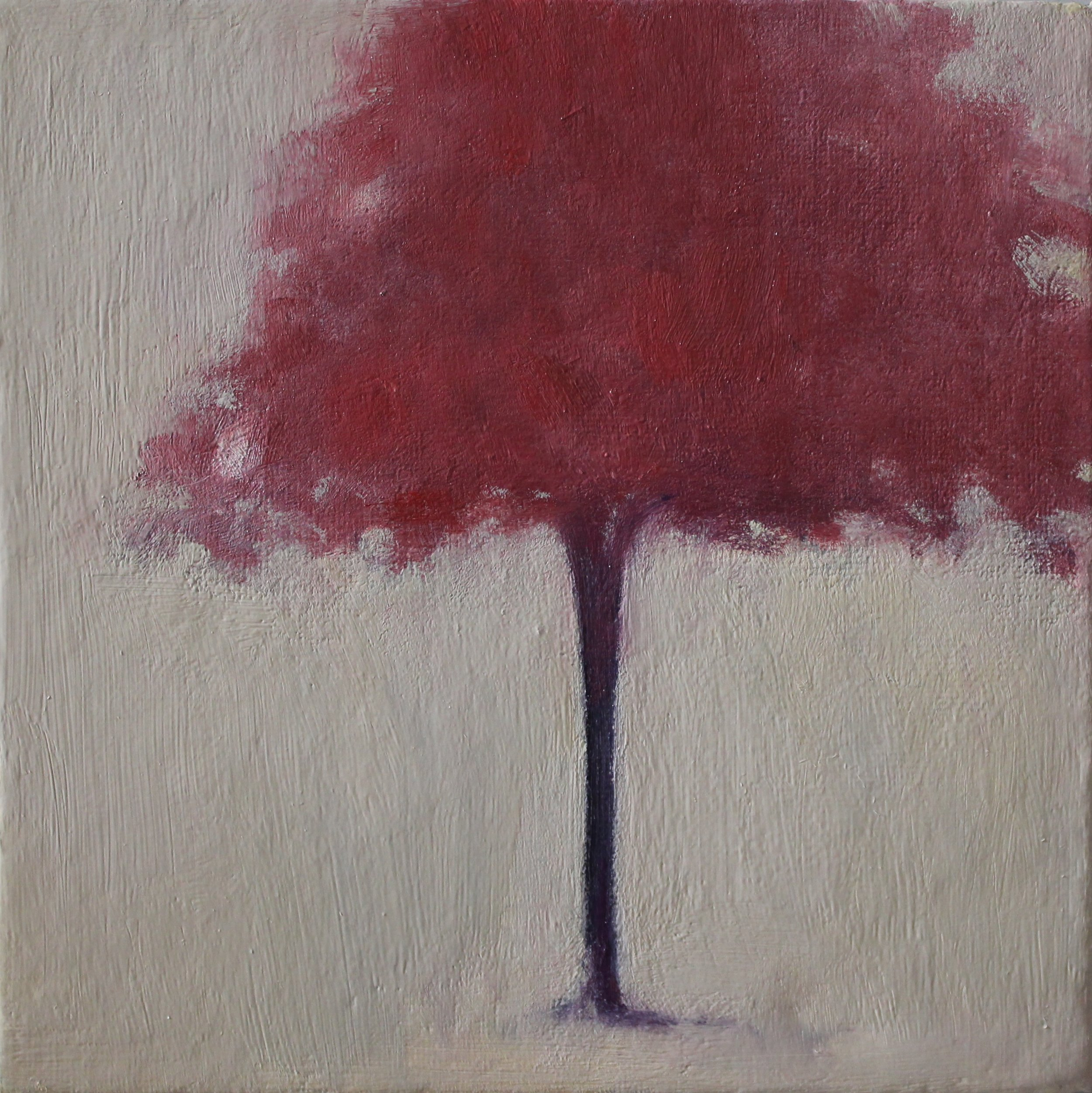 Title: Blossom Tree (I)  Size: 15 x 15 cm  Medium: Oil on canvas panel  Price: £260