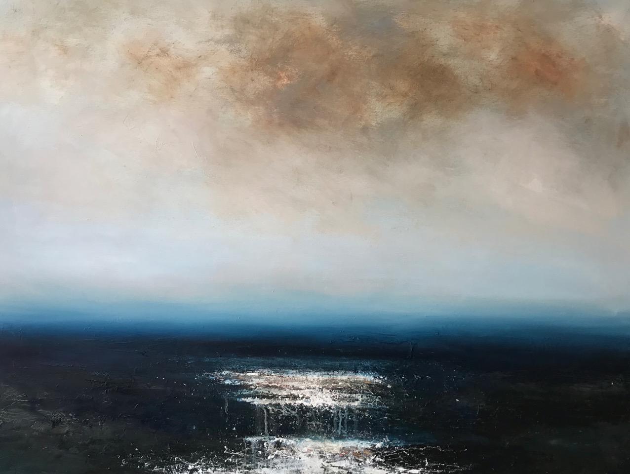 Title: Embark Size: 90 x 120 cm Medium: Oil on canvas