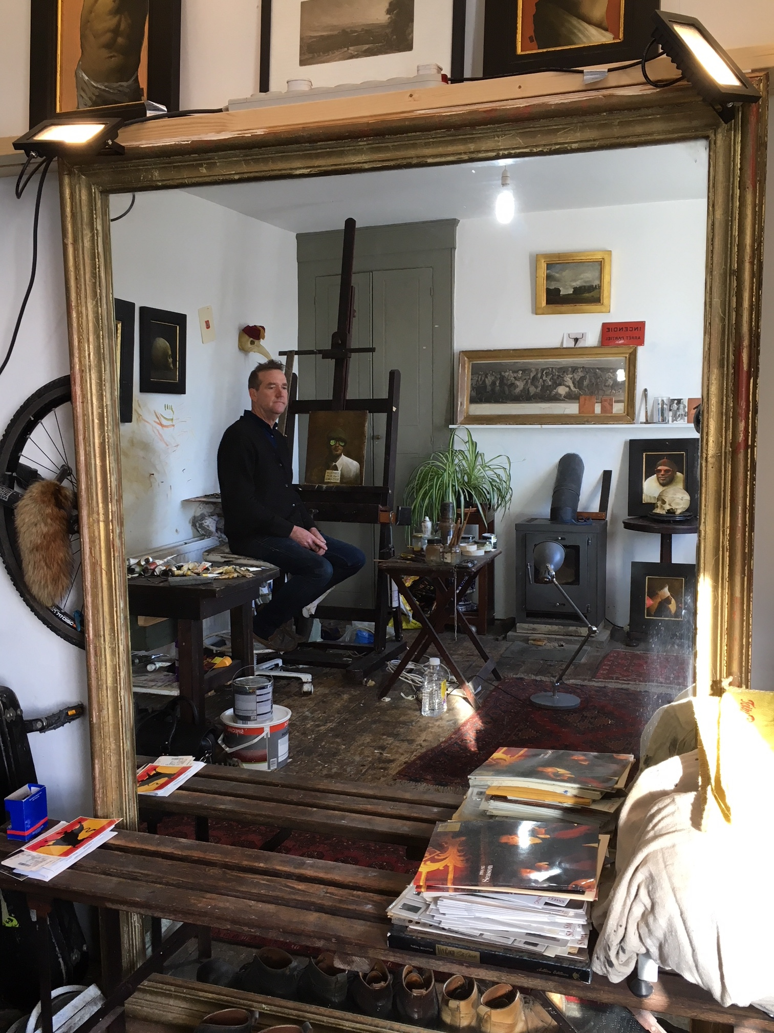 Kevin Hendley studio.JPG