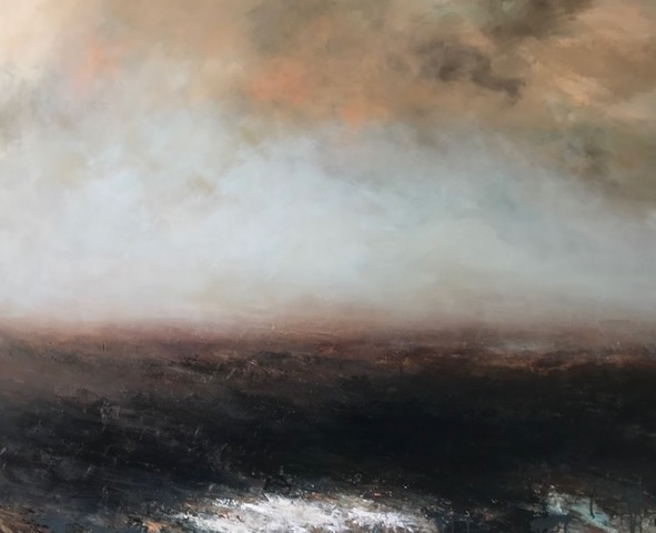 Artist: Hannah Ludnow  Title: Dawning  Size: 120 x 150 cm  Medium: Oil on canvas  Price: £2600