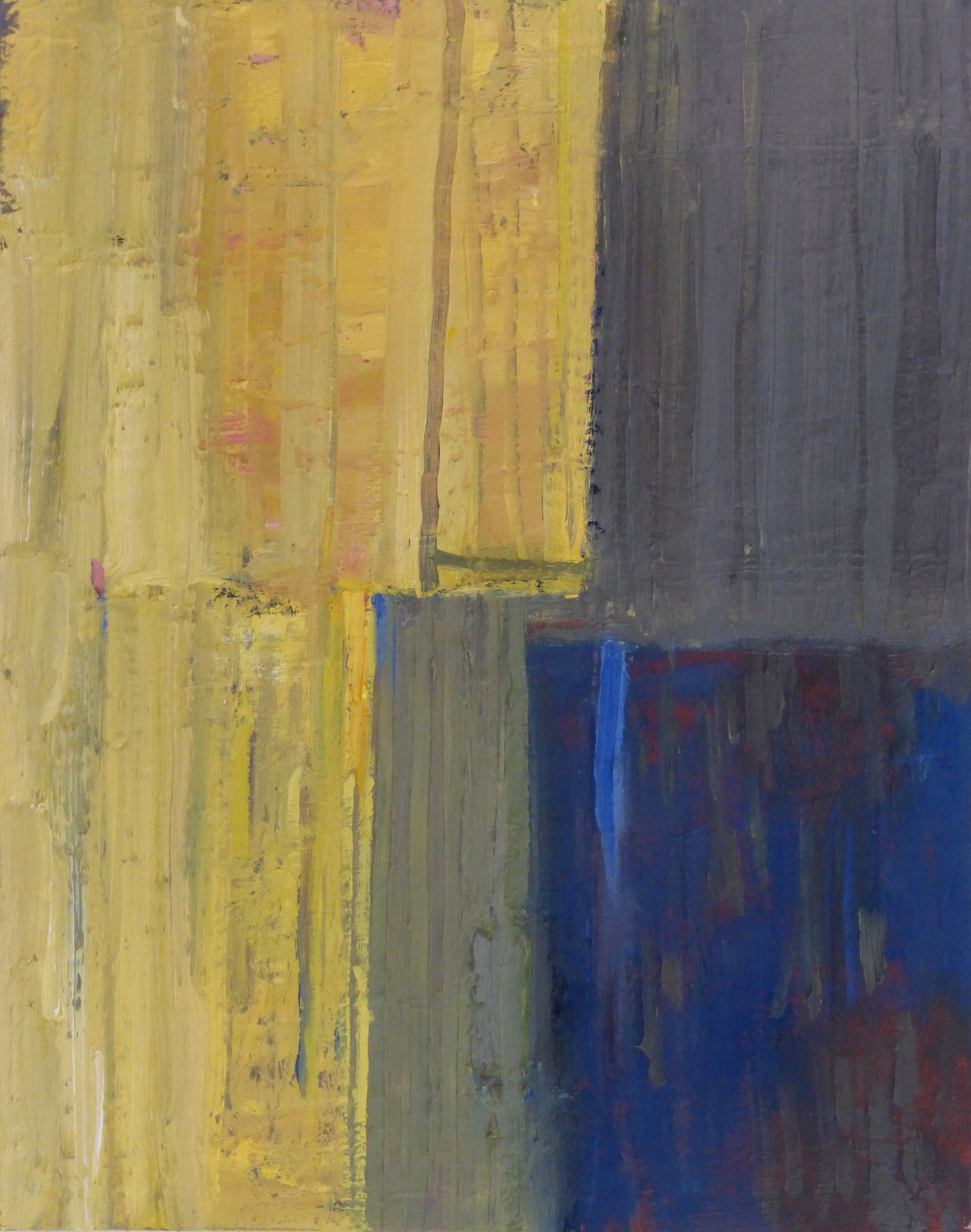 Artist: Maria Kuipers  Title: Yellow Verticals  Size: 50 x 40 cm  Medium: Oil on canvas  Price: £1190