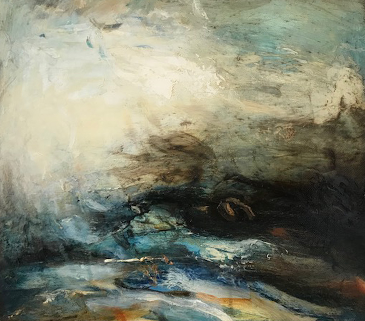 Artist: Mark Johnston  Title: Surge  Size: 30 x 36 cm  Medium: Oil on linen  Price: £1700