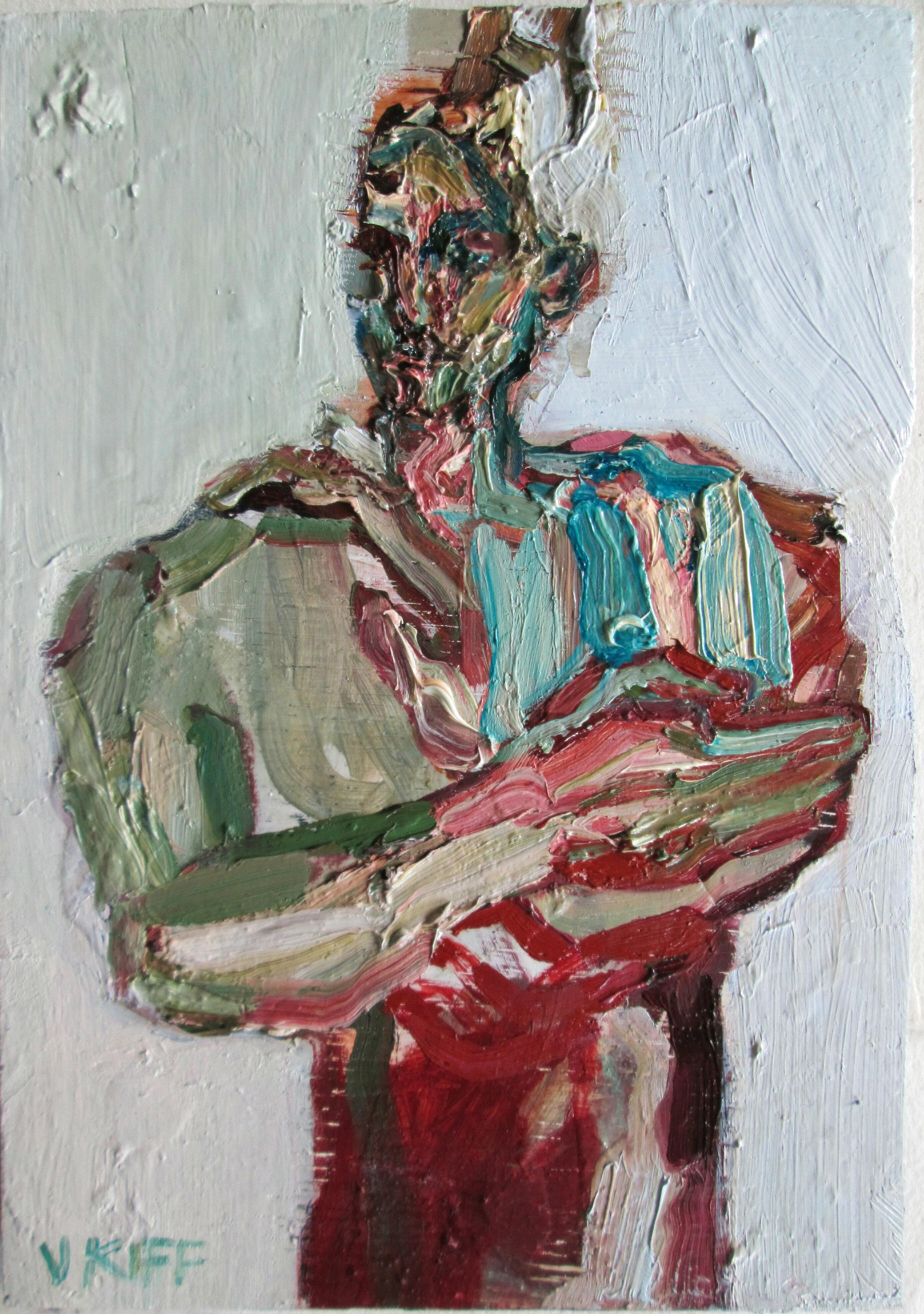Title: First Lights  Size: 38 x 32 cm  Medium: Oil on wood panel  Price: £700