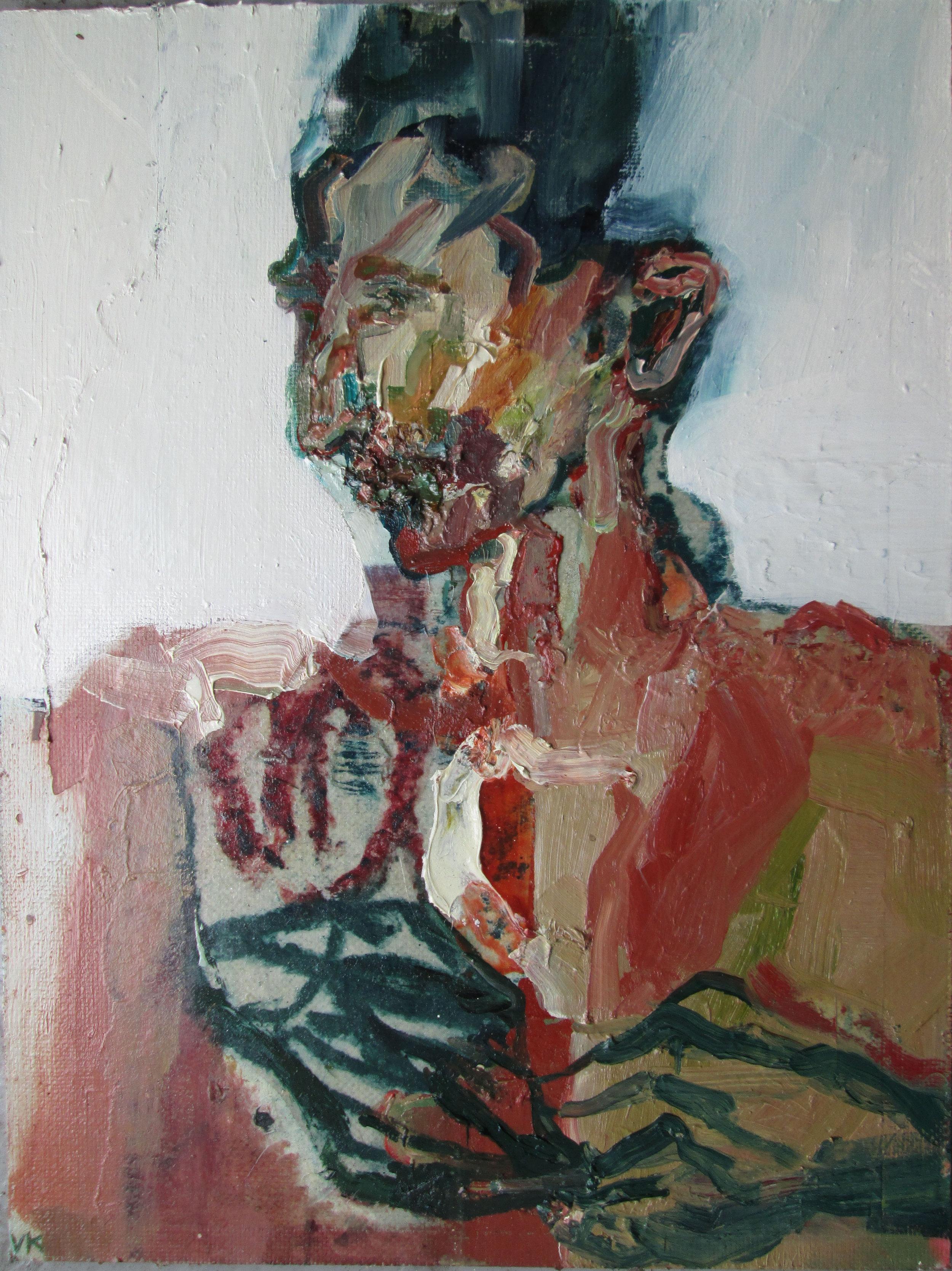 Title: Sleep Walking Vapour  Size: 48 x 38 cm  Medium: Oil on linen panel  Price: £1350