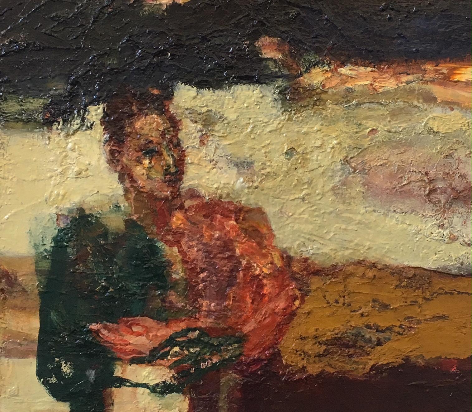 Title: Tinctoria Gorse  Size: 65 x 70 cm  Medium: Oil on canvas  price: £1600