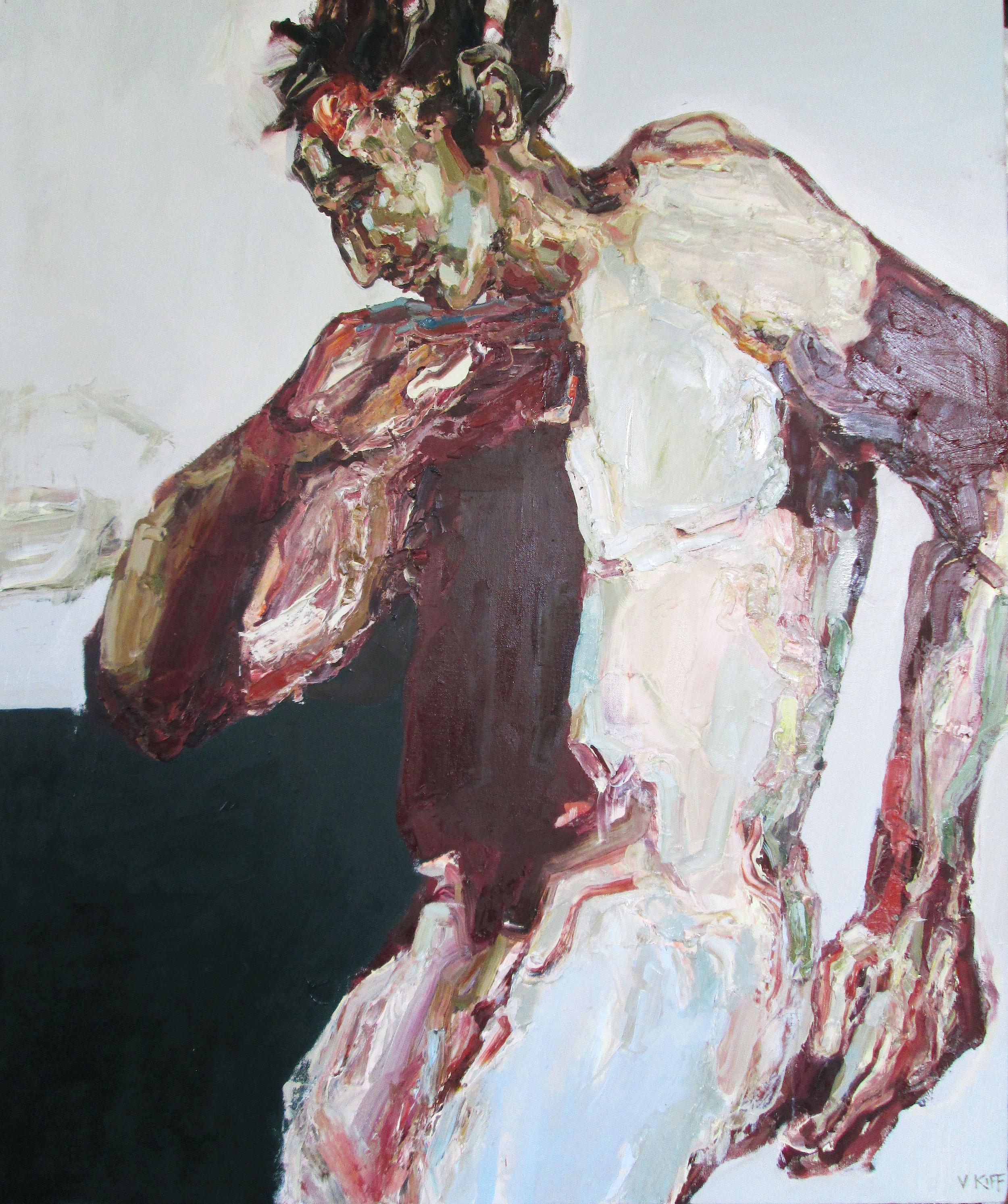 Title: Partial Eclipse  Size: 125 x 105 cm  Medium: Oil on canvas  Price: £4500