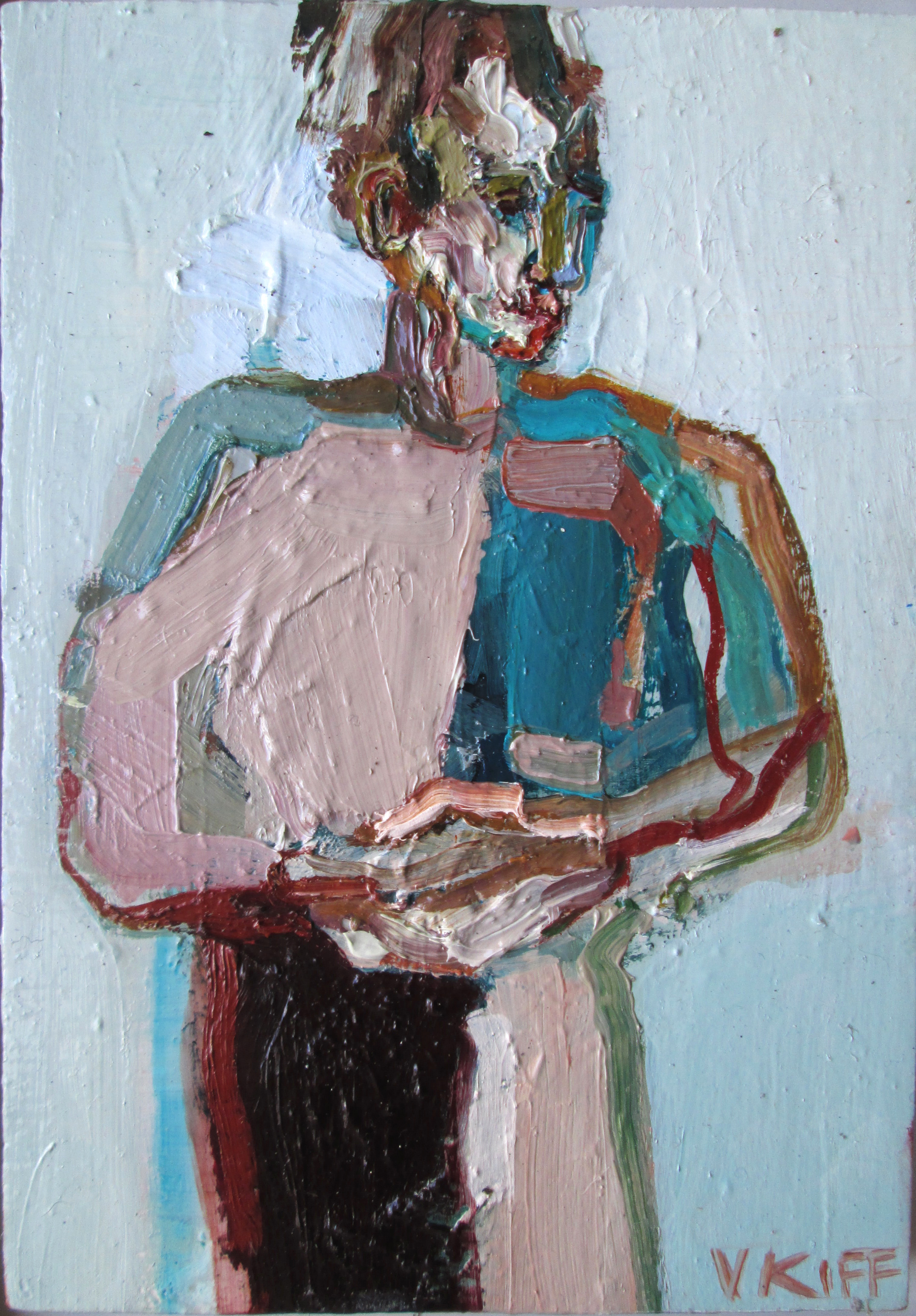 Title: Four Fragments  Size: 38 x 32 cm  Medium: Oil on wood panel  Price  SOLD