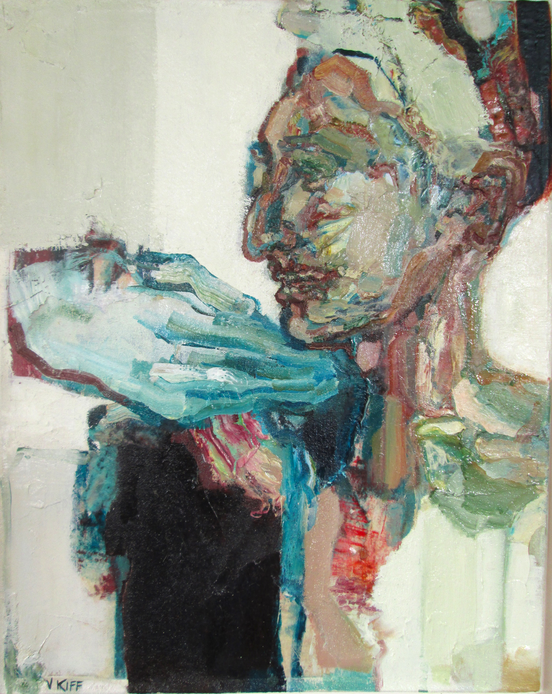 Title: Exquisite Bell-Glass  Size: 66 x 56 cm  Medium: Oil on canvas  Price: £1950