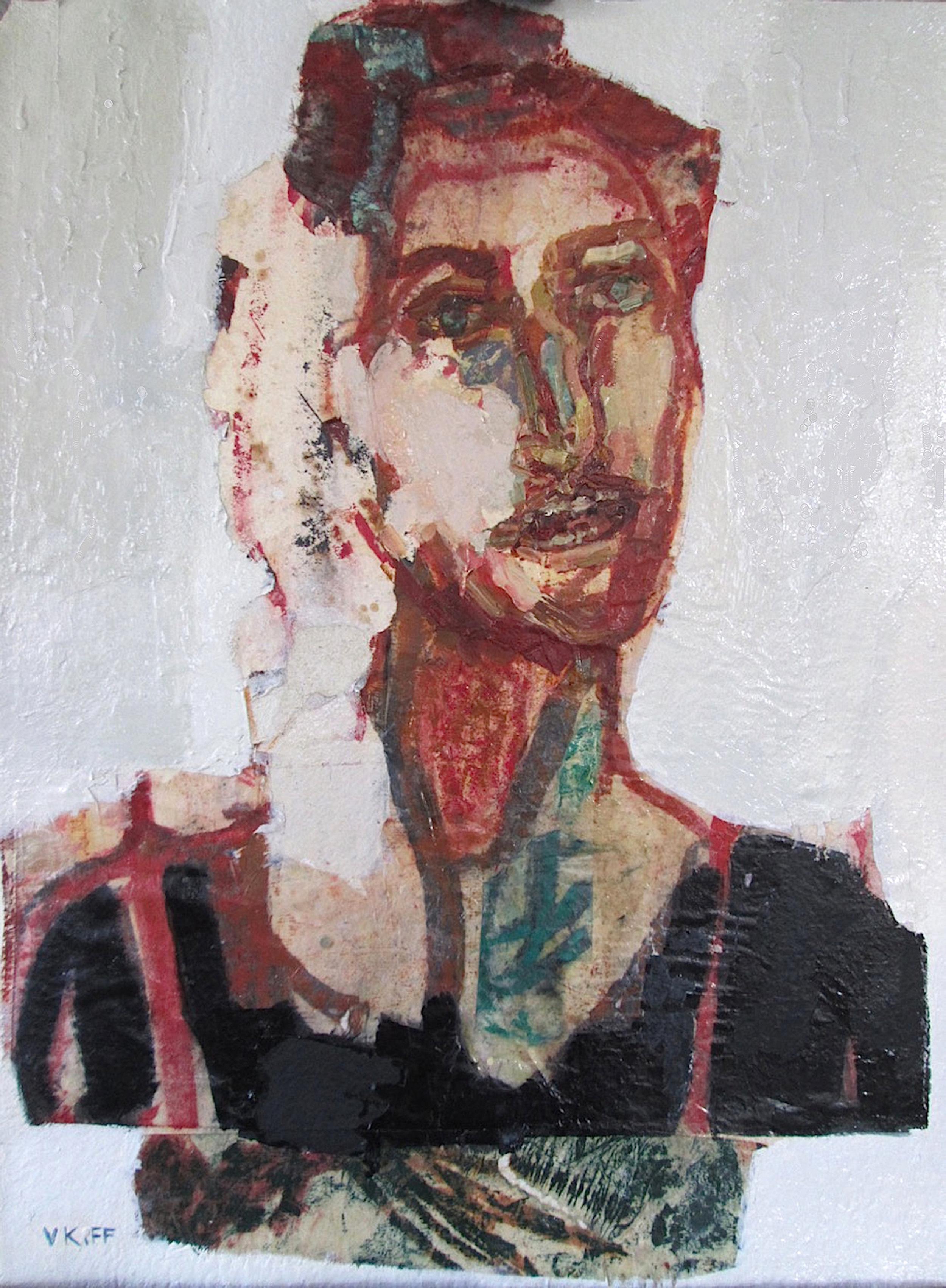 Title: The Horseman  Size: 72 x 58 cm  Medium: Oil on paper  Price: £1600