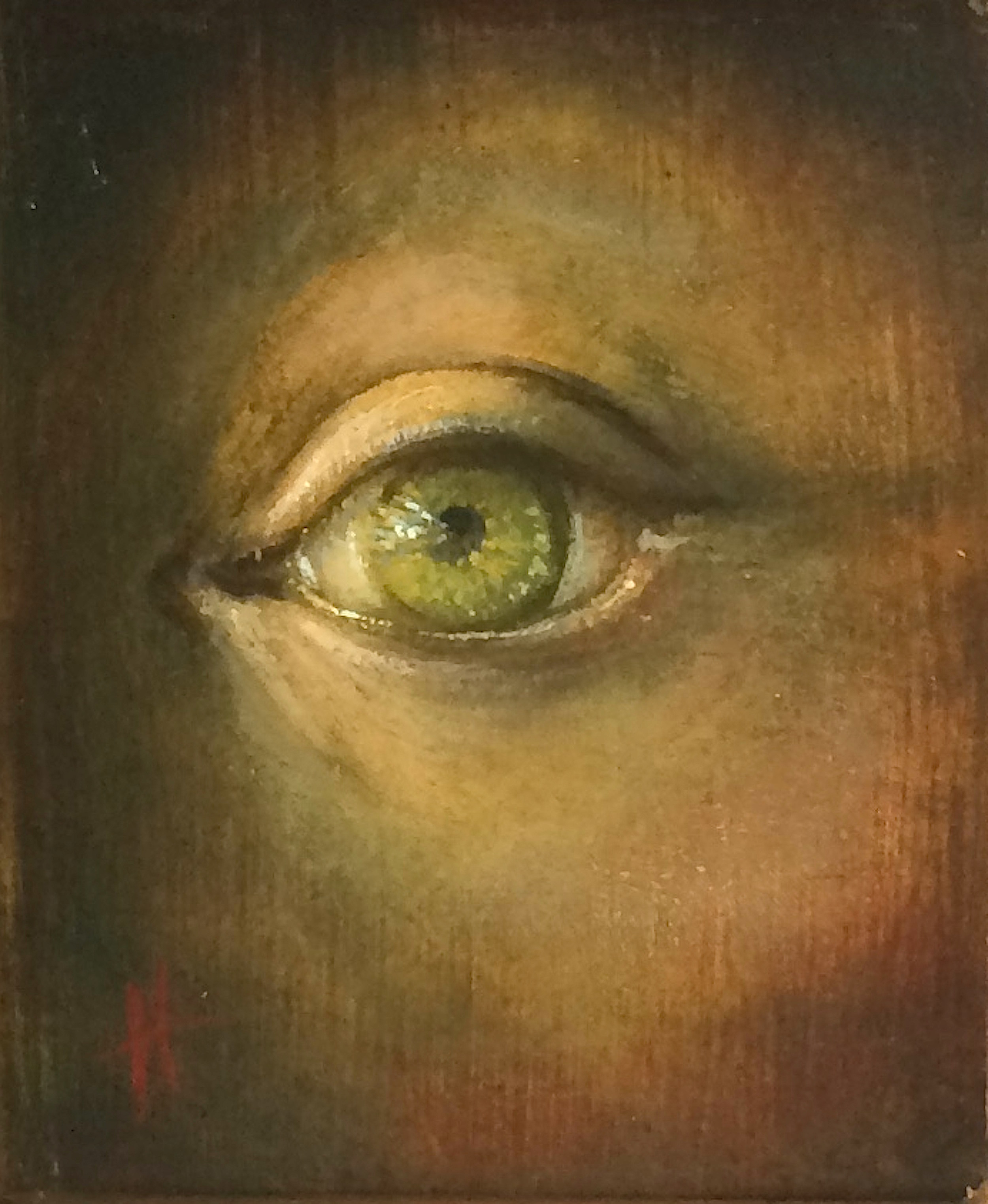 Title: Study for Eye  Size: 11.5 x 9 cm  Medium: Oil on panel  SOLD