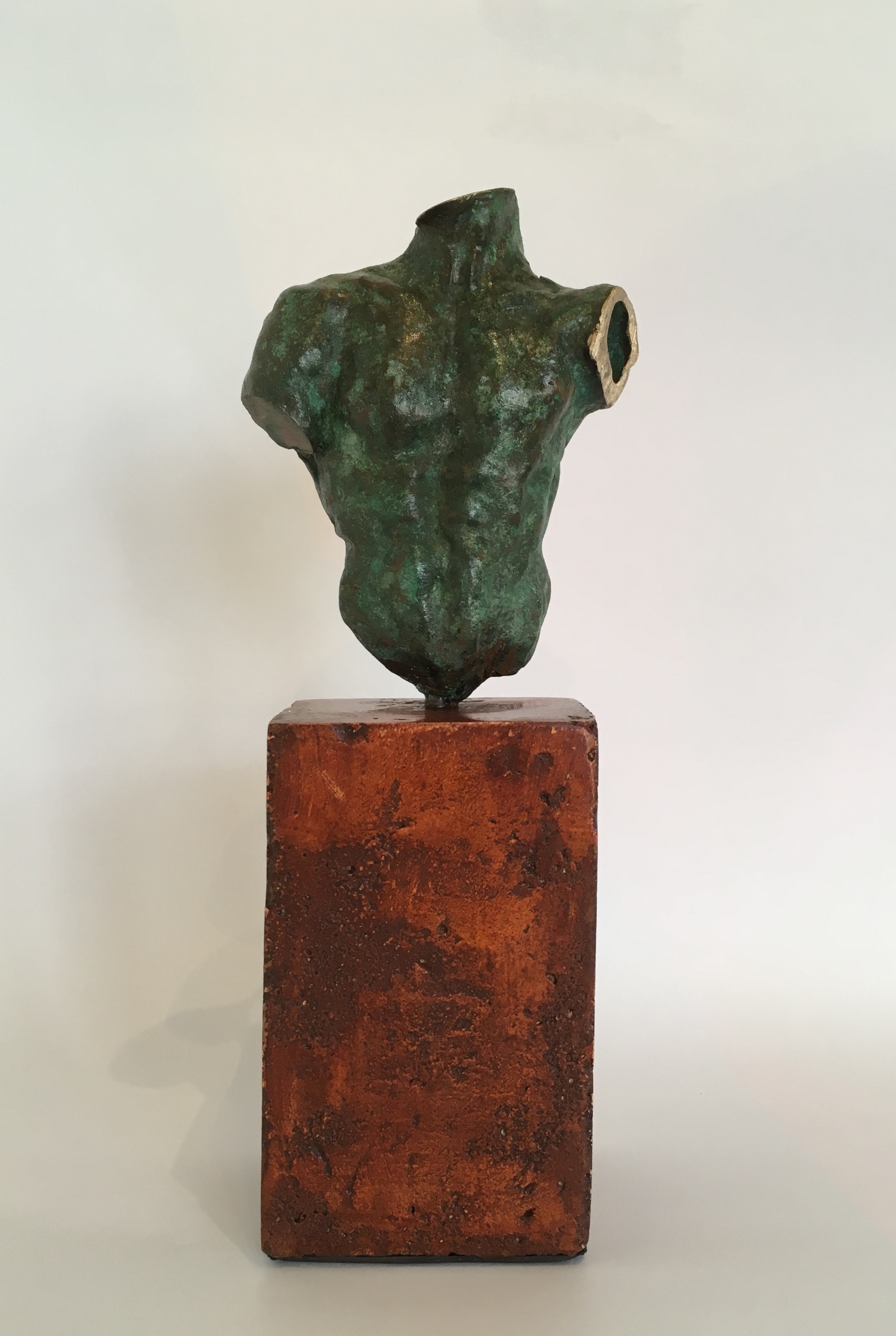 Title: Torso I  Size: H 28 cm  Medium: Bronze Edition 1/1  RESERVED: May become available, please contact the gallery