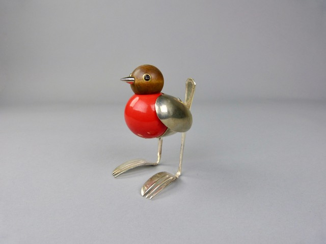 Artist: Dean Patman  Title: Robin  Size: 20 cm (height)  Medium: Mixed media  Price: £195