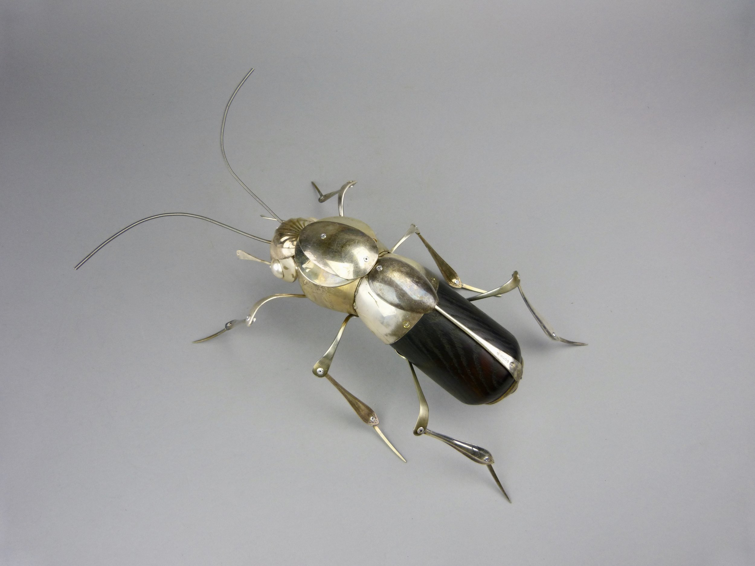 Artist: Dean Patman  Title: Soldier Beetle  Size: 43 cm (length)  Medium: Mixed media  Price: £750