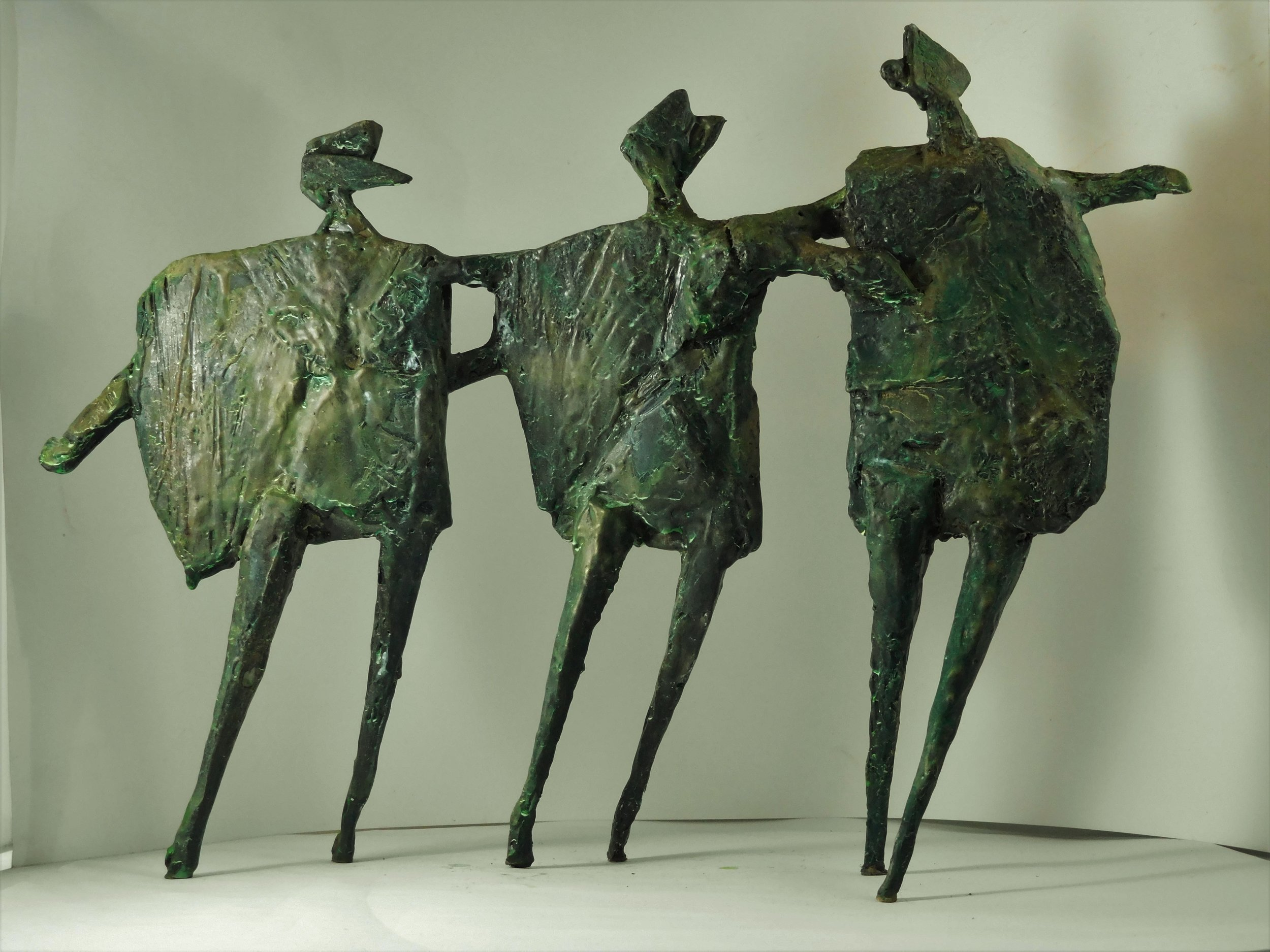 Title: Running Children Size: 30 cm (h) x 41 cm (w) Medium: Bronze, edition 3 of 9  Price: £2100