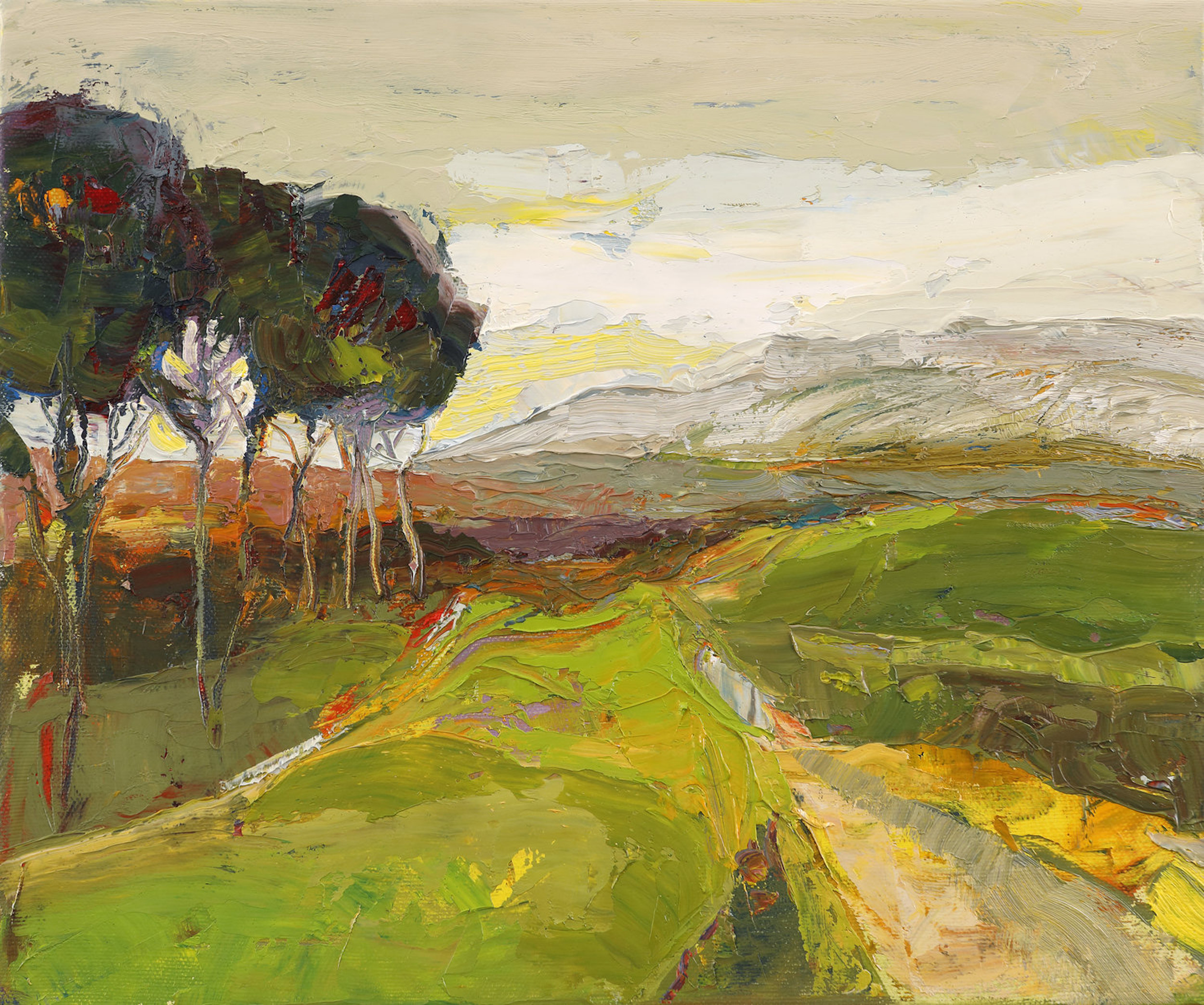 Artist: Kirsty Wither  Title: Leading Us On  Medium: Oil on Canvas  Size: 25 x 30 cm  SOLD