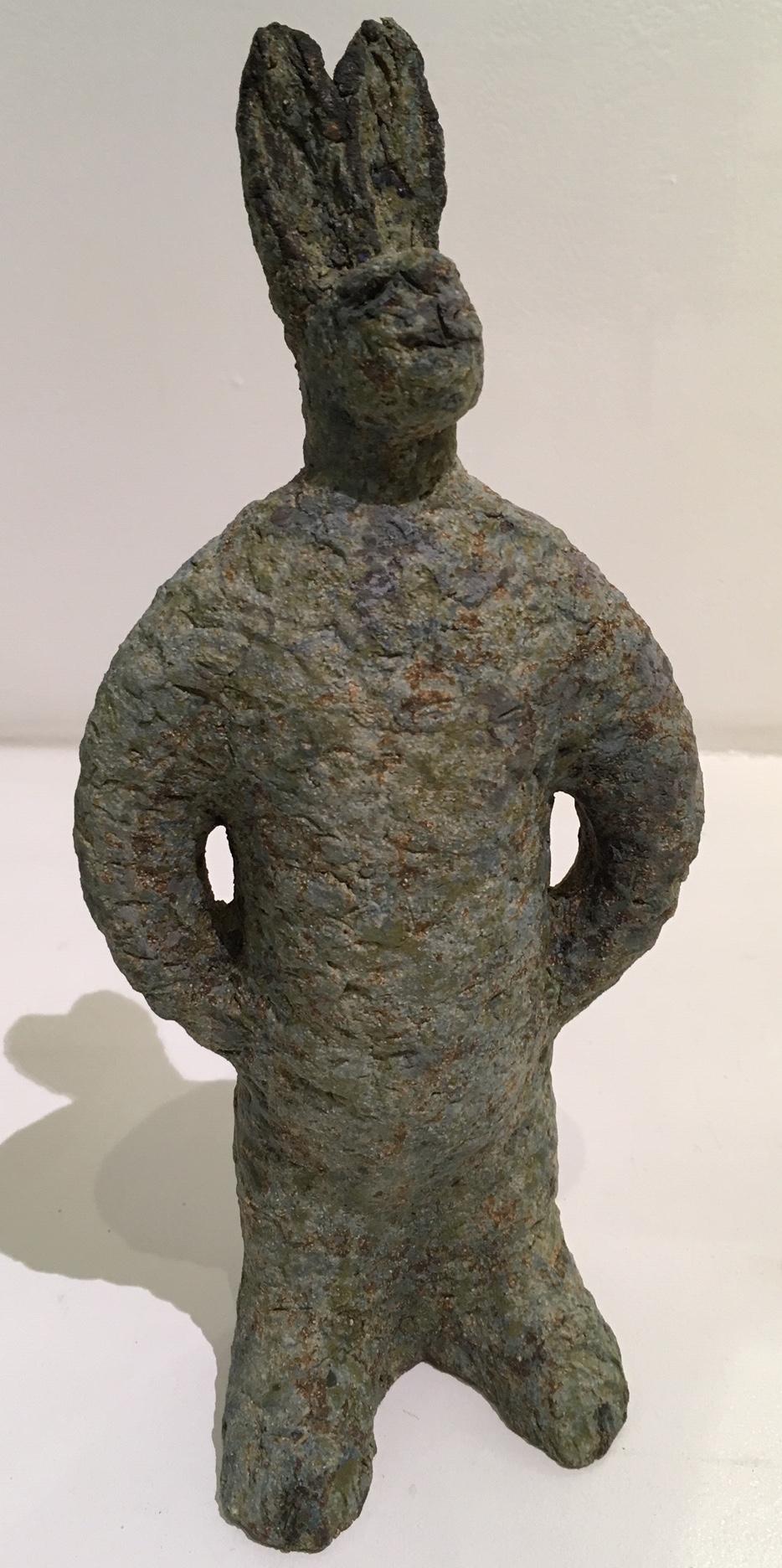 Title: Standing Hare Medium: Ceramic Stoneware Height: 30cm Price: £240