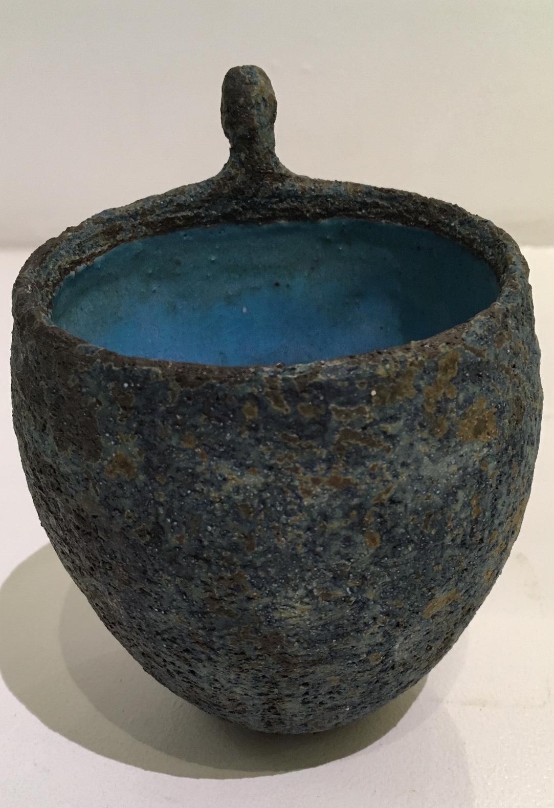 Title: Figure Vessel Medium: Ceramic Stoneware Height: 13cm Price: £100