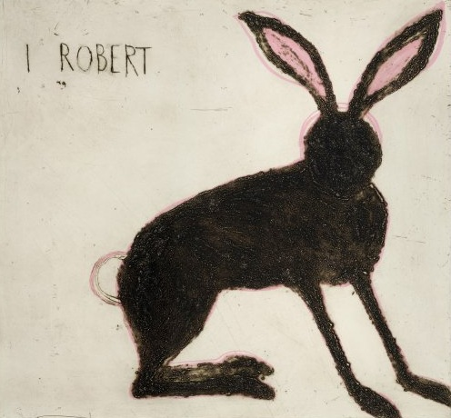 Title: I Robert  Size: 62 x 67 cm  Medium: Drypoint and hand-coloured  Price: £900 framed   Buy Now