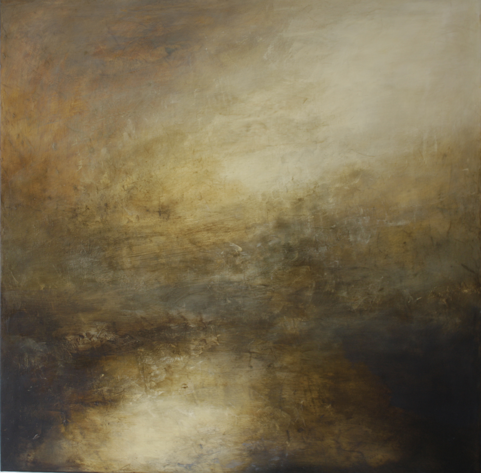 Artist: Victoria Graimes  Title: Elements  Size: 115 x 115 cm  Medium: Oil on canvas  Price: £3250   Buy Now