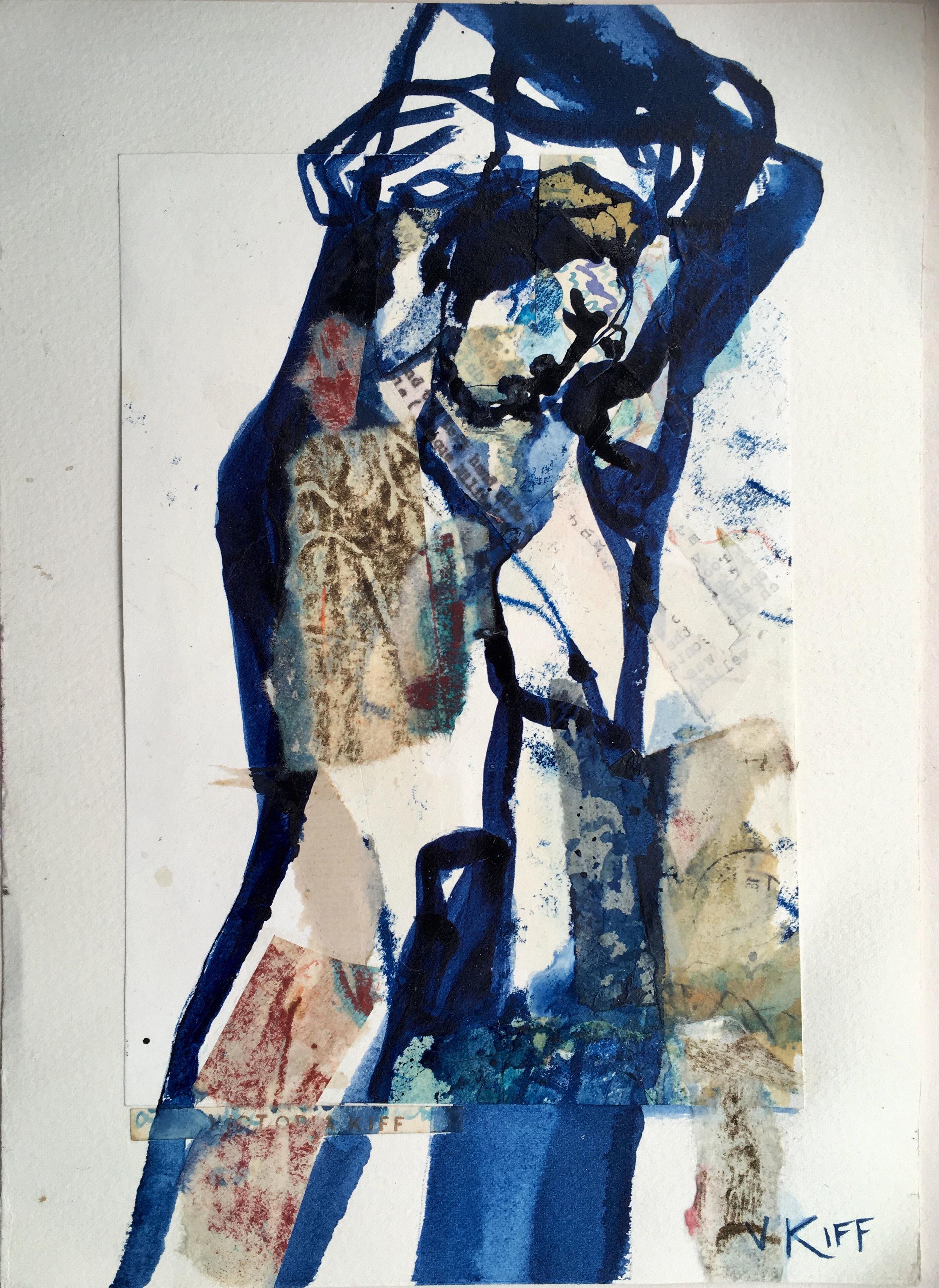 Artist: Victoria Kiff  Title: A Bottle in the Sea  Size: 35 x 50cm  Medium: ink on cotton rag  Price: £550