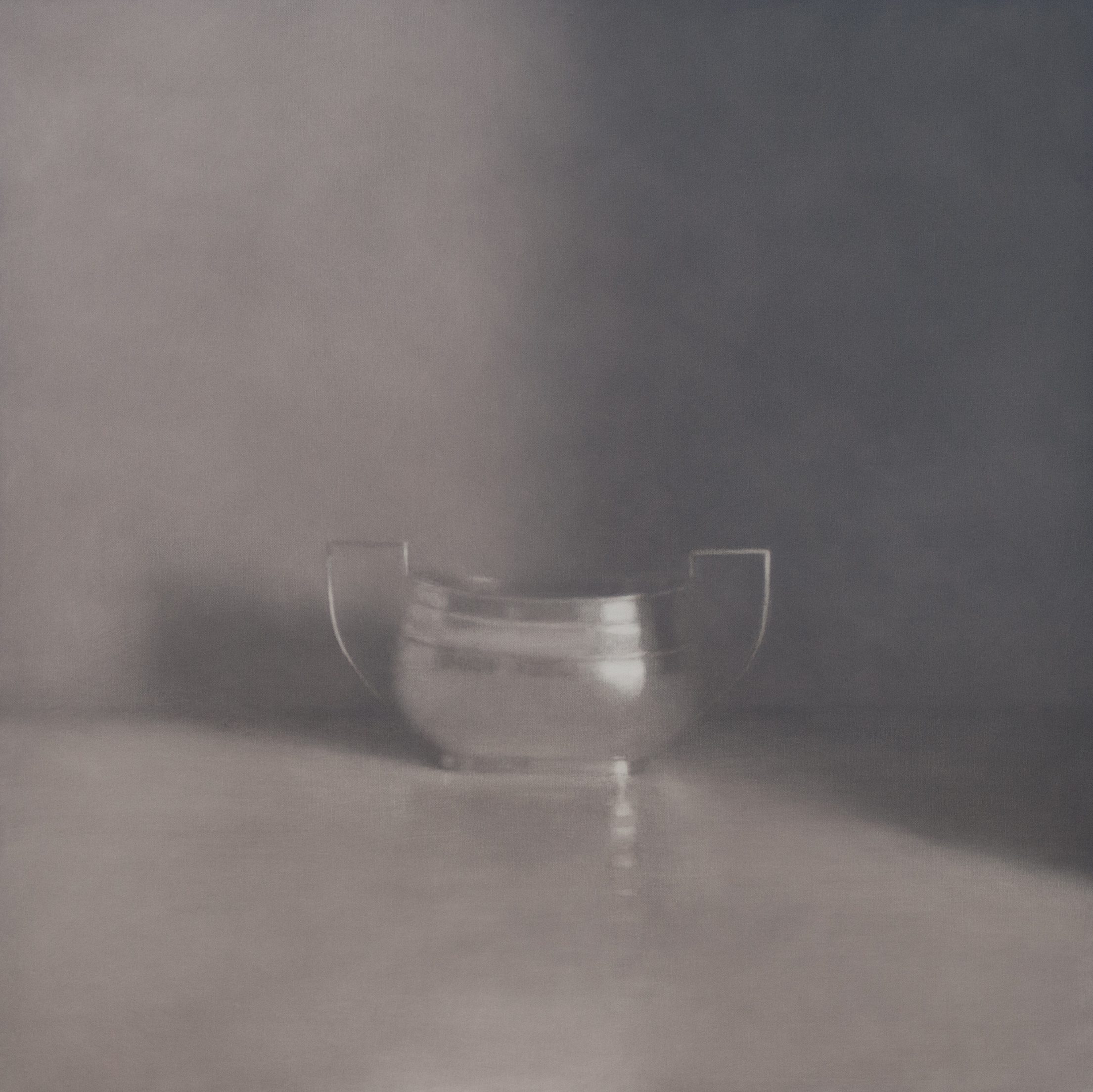 Artist: Harriet Porter  Title: Pale Winter Light  Size:  93 x 93 cm   Medium: Oil on canvas  Price: £2750
